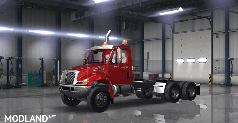 Net Direct Trucks >> International Durostar mod for American Truck Simulator, ATS
