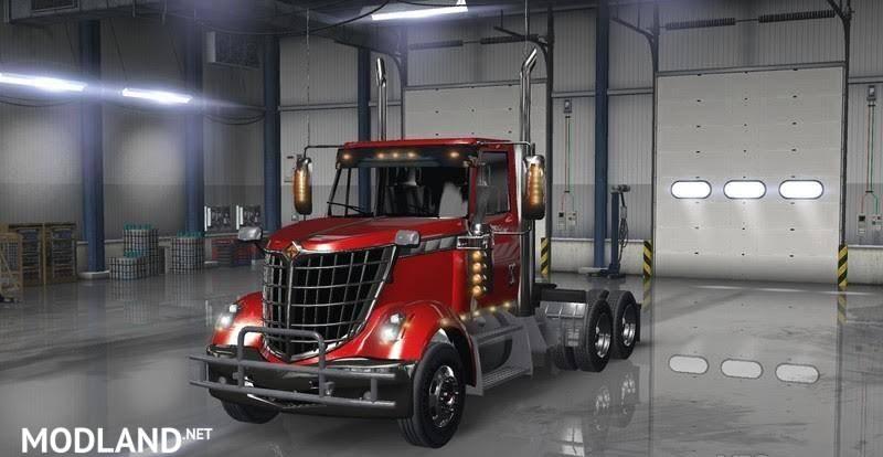 International Lonestar Day Cab mod for American Truck Simulator, ATS