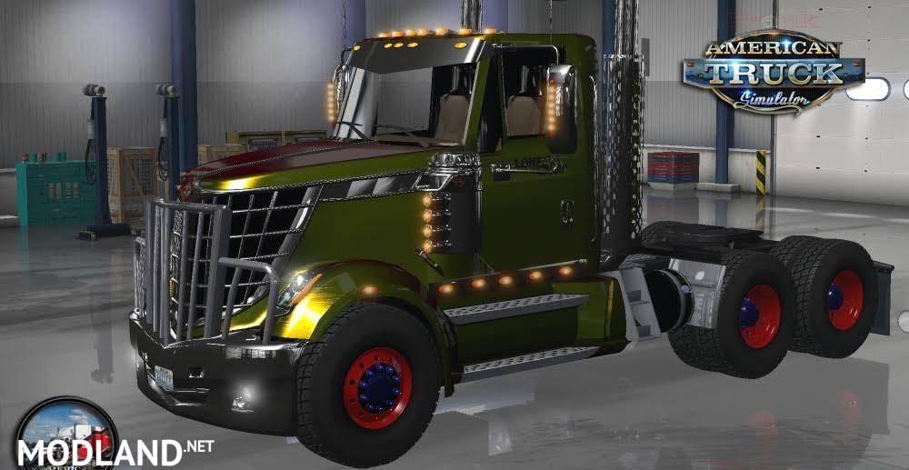 INTERNATIONAL LONESTAR v 2.3.1 mod for American Truck Simulator, ATS