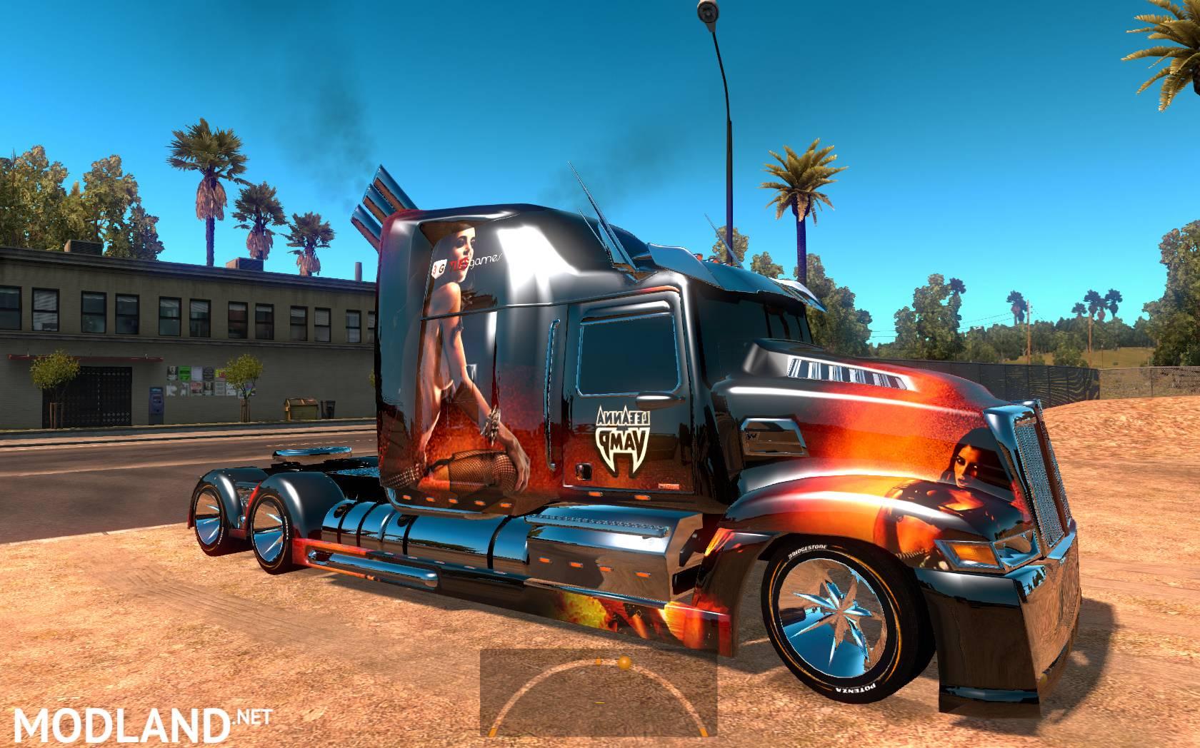 Western Star 5700 >> Heavy truck: Optimus Prime, Western Star 5700-ATS 1.5.3s mod for American Truck Simulator, ATS
