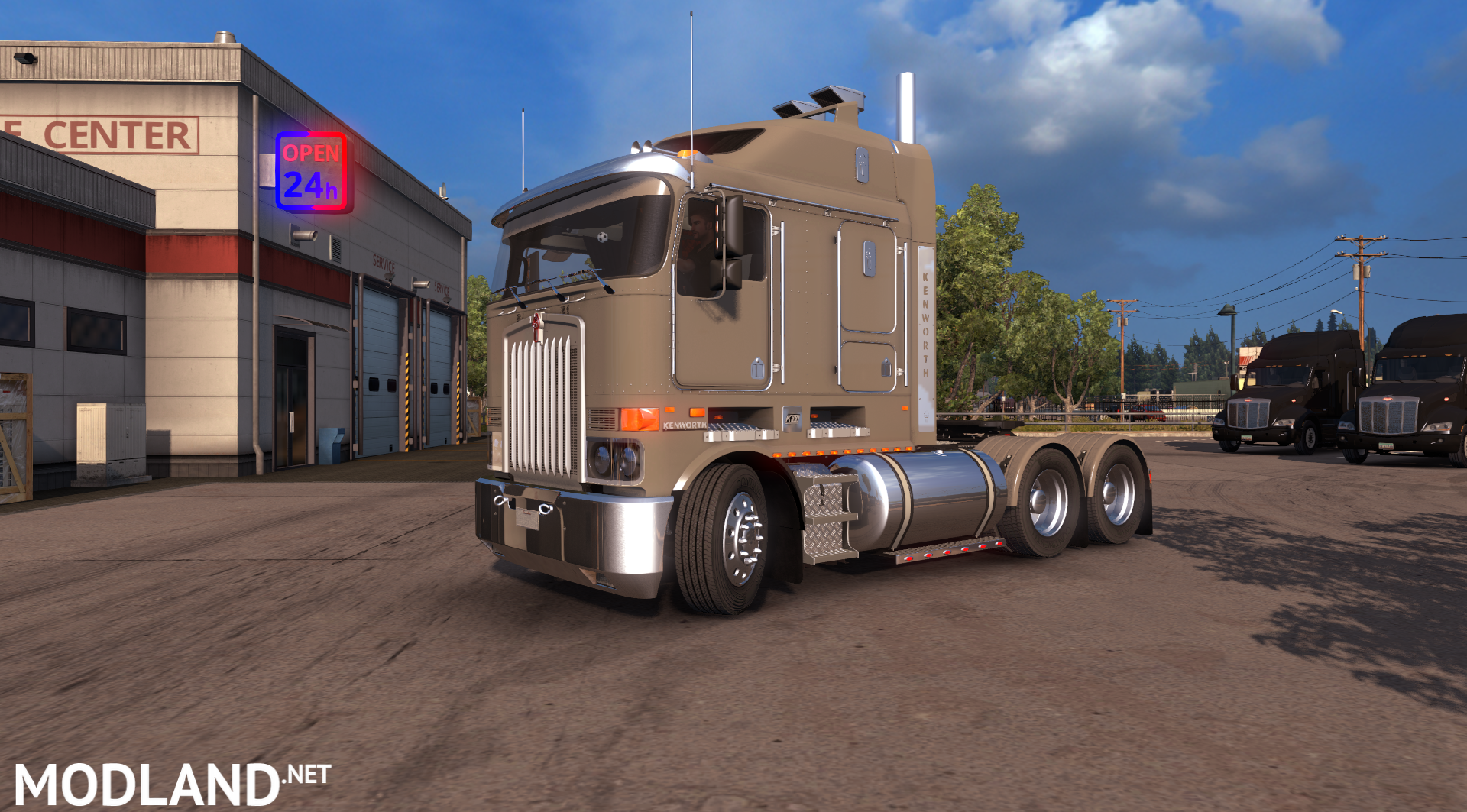 ats kenworth k108 v2 0 mod for american truck simulator ats. Black Bedroom Furniture Sets. Home Design Ideas
