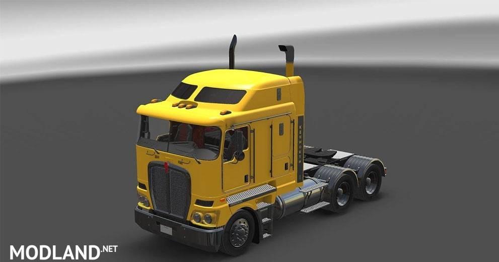 Kenworth K200 for ATS V11 mod for American Truck Simulator, ATS