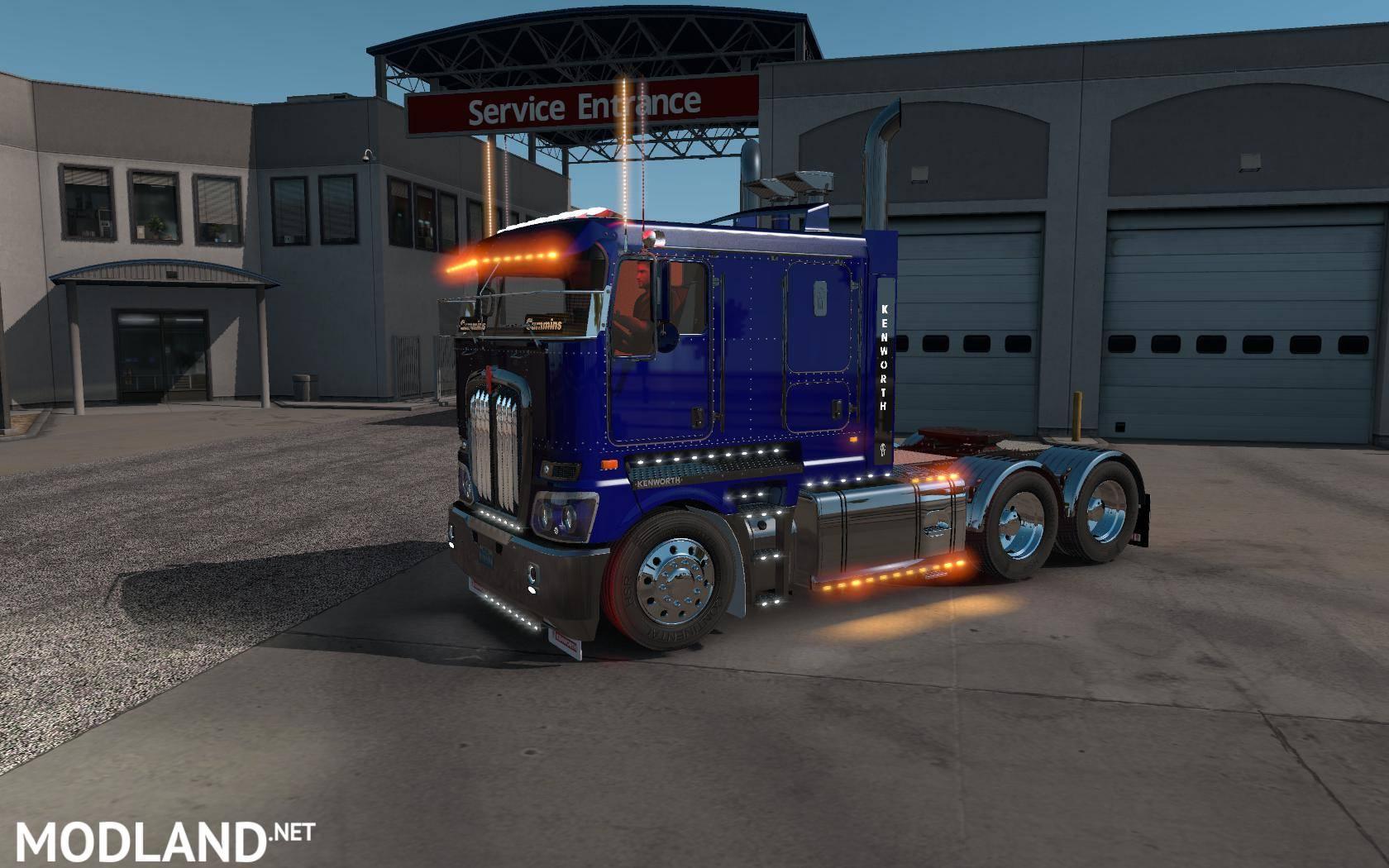 Kenworth K200 Flattop V14 3 Mod For American Truck