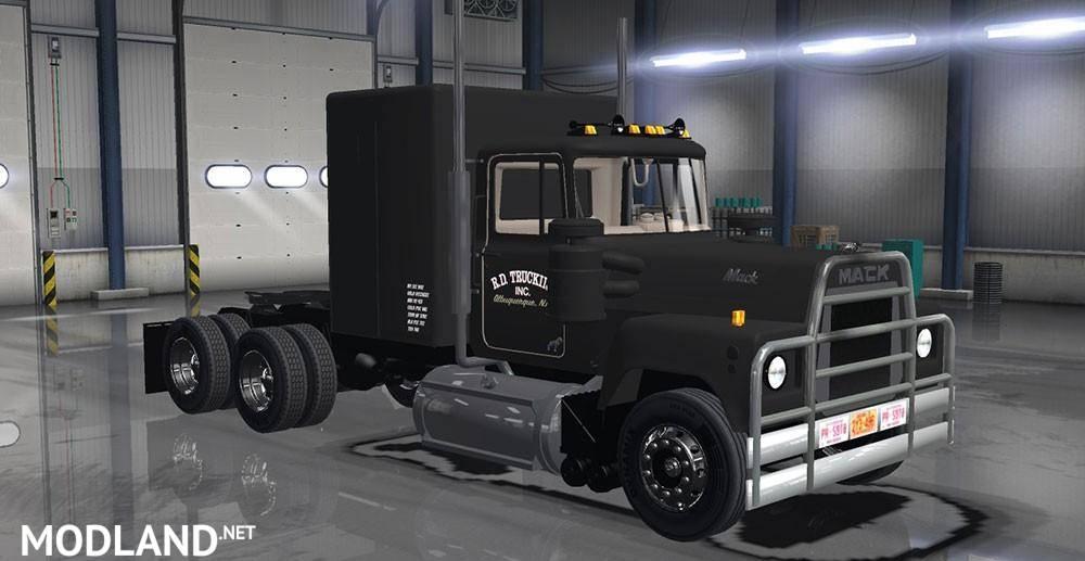 Mack RS 700 mod for American Truck Simulator, ATS