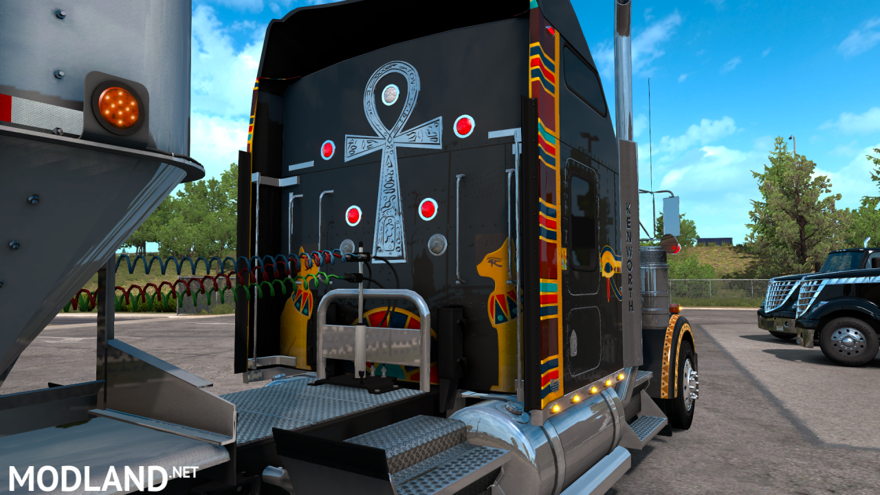 Kenworth W900 Egyptian Custom