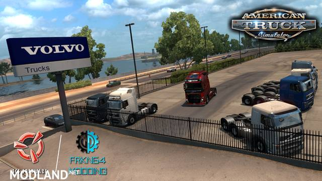 Volvo FH16 Trucks for ATS