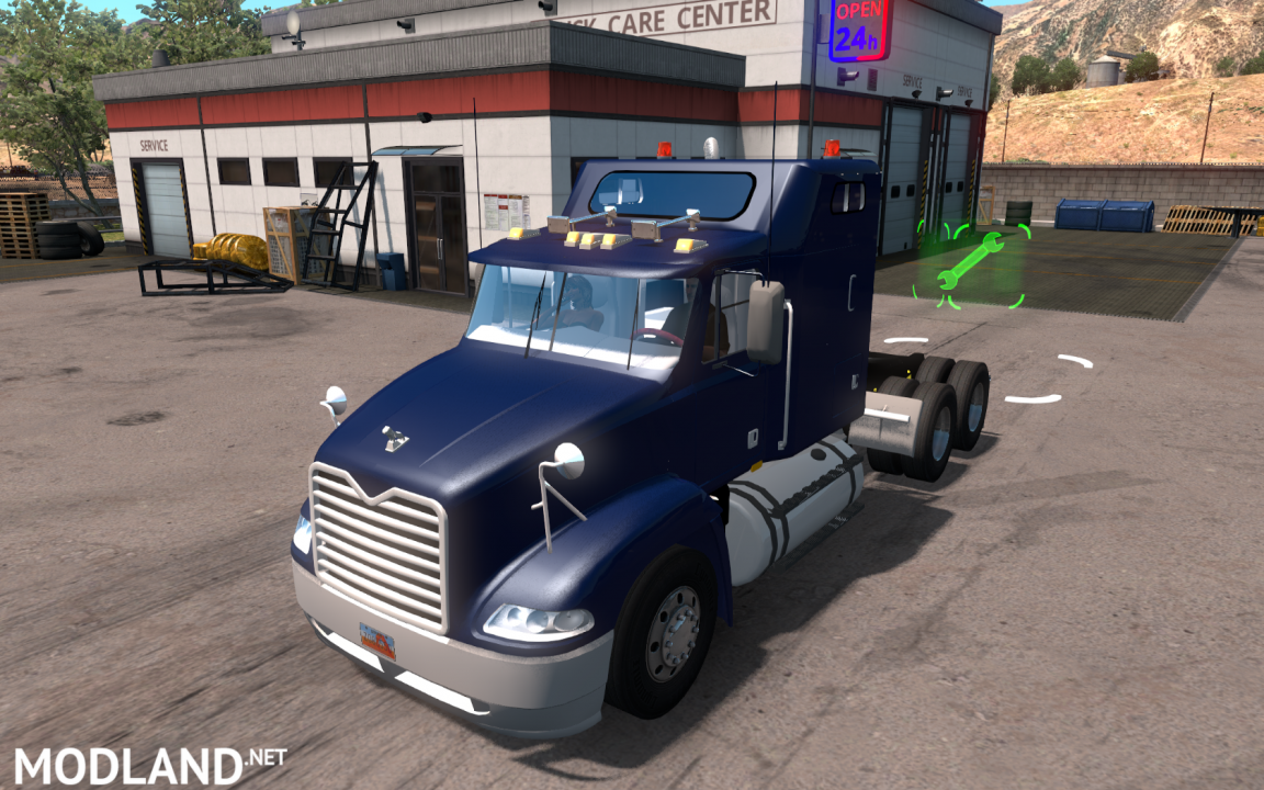 Mack Vision for ATS 1.36 with updated interior
