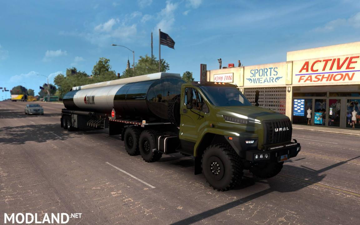 Ural Next 1.38 Update for ATS