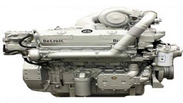 Detroit Diesel 6v92 sound for Kenworth Long