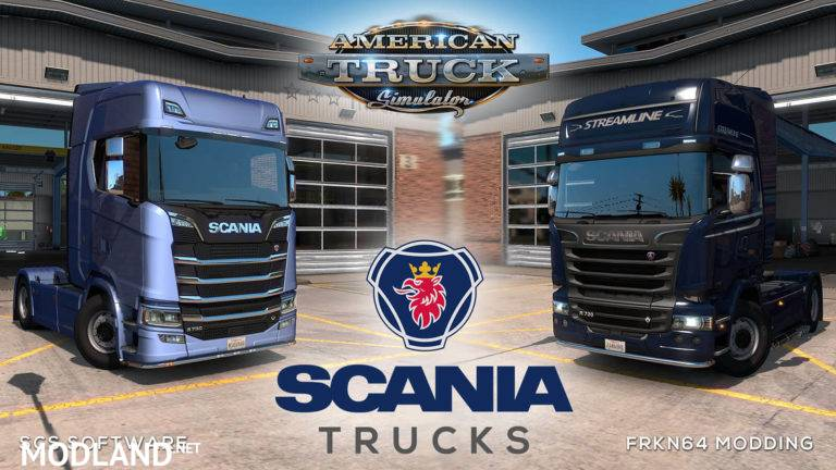 SCANIA Trucks for ATS v3.0 1.36.x