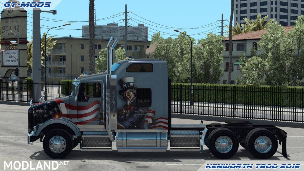 GT-Mods Kenworth T800 2016