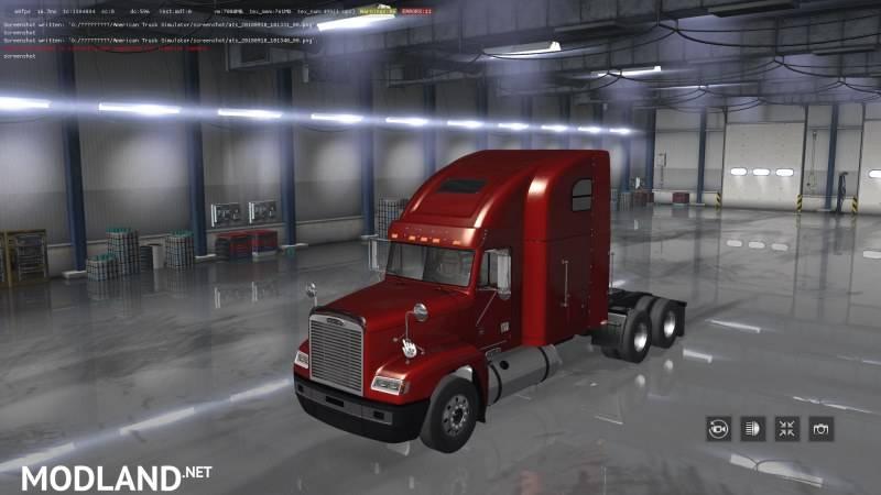 Freightliner FLD ATS v2.1 upd 11.07.19 [1.35]
