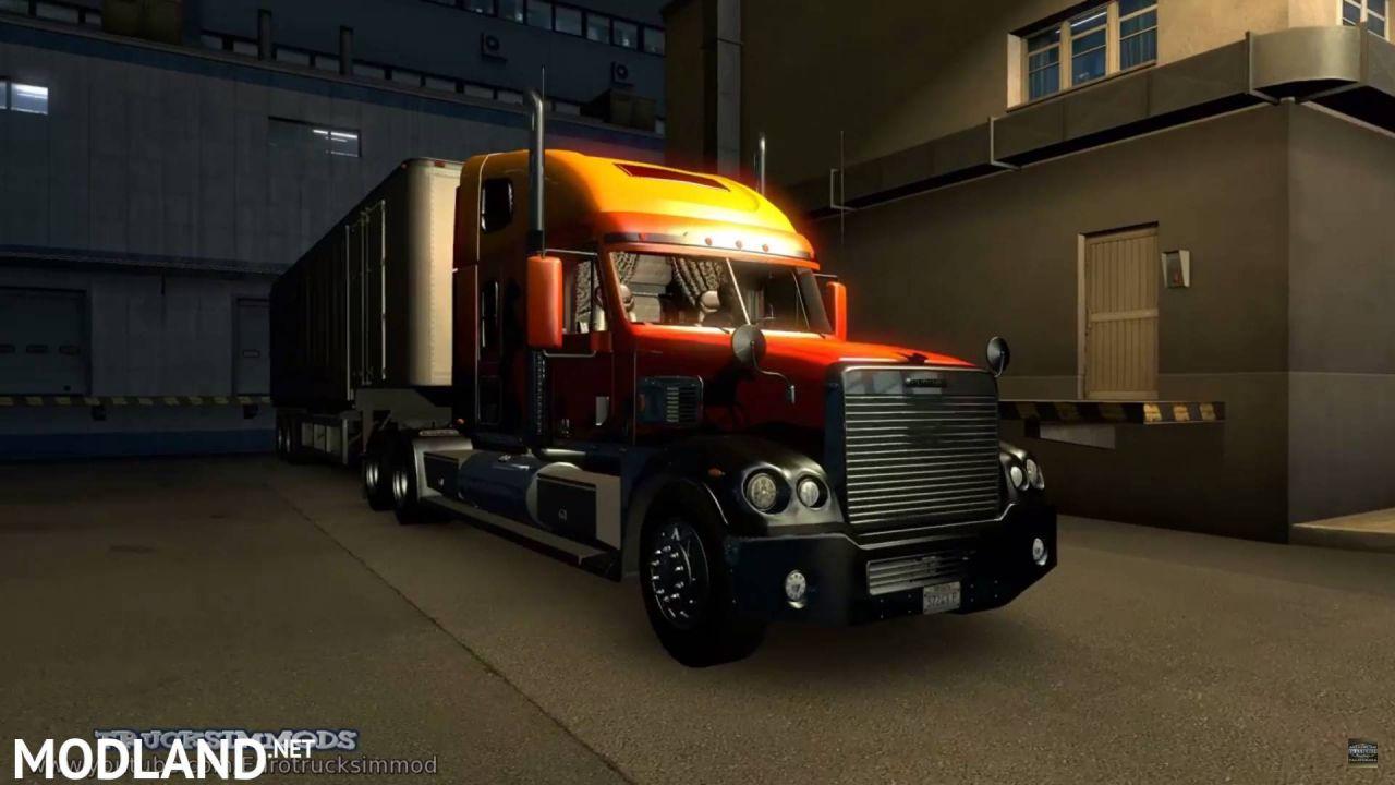 Freightliner Coronado Deluxe + TV