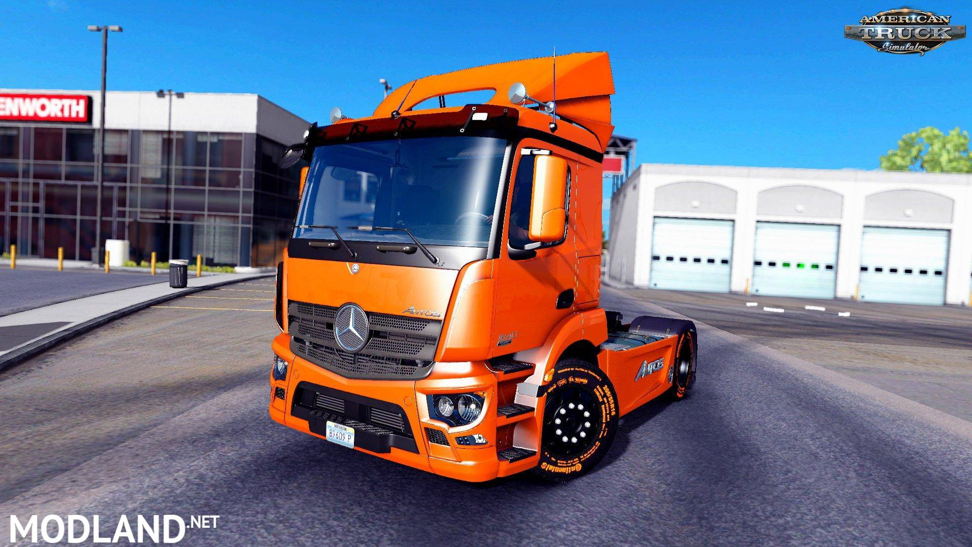 mercedes benz antos 1840 v 1 0 mod for american truck. Black Bedroom Furniture Sets. Home Design Ideas