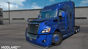 Freightliner Cascadia 2018 Ultrabald Edition 1.6 for ATS 1.34.x
