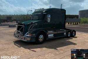 Volvo VNL Truck Shop v1.4+ (BSA Revision) for ATS v1.35 or higher