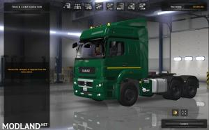 Kamaz 5490 65206 6580 for ATS 1.31.x (different version with Dump truck +BDF trailer), 4 photo