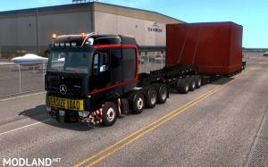 Mercedes Big Stars Actros/Arocs SLT for ATS 1.35, 2 photo