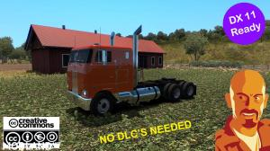PETERBILT 352 REWORKED ATS 1.35.x DX11 FIX NO DLC NEEDED, 2 photo