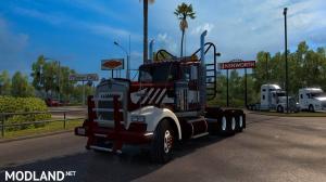 W900 heavy duty day cab