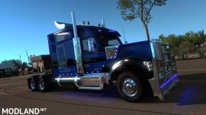 Kenworth W990 by Harven v1.2.2 ATS [REL] 1.37.x, 1 photo