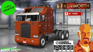 KENWORTH K100 ATS 1.33.x, 1 photo