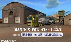 Truck MAN TGX in ATS