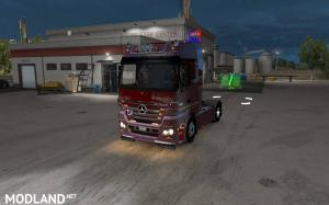 Mercedes Benz MP2 for ATS 1.31.x Fixed + Standalone, 1 photo