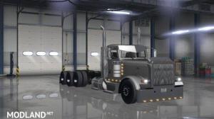 Tri-Drive Peterbilt 389 by Bu5ted