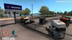 Scania Trucks Mod v 2.0 for ATS , 1 photo
