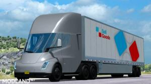 Tesla Semi Truck with Trailer 2019 (ATS 1.31.x), 1 photo