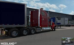 Freightliner Classic XL V2.0+ (BSA Revision) for ATS v1.35 or higher, 4 photo