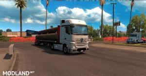 MERCEDES ACTROS 2014 with All Cabins & Accessories