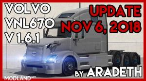 Volvo VNL 670 v 1.6.1 by ARADETH for ATS (Official Update)