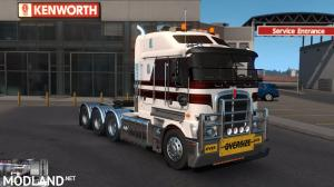 RTA-Mods Kenworth K200 v14.3 HCC edit (ATS BSA edit) for ATS v1.35 or higher, 1 photo