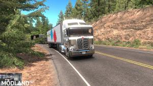 RTA-Mods Kenworth K200 v14.3 HCC edit (ATS BSA edit) for ATS v1.35 or higher, 4 photo