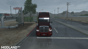 Kenworth T680 Double Bumper + Engine 625hp Multiplayer 1.35, 1 photo