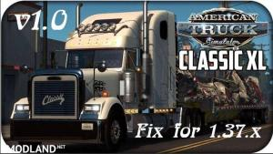 Fix for Freightliner Classic XL truck v1.37, 1 photo