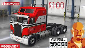 KENWORTH K100 ATS 1.29.x, 1 photo