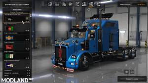 Kenworth T800 by dmitry68 for ATS [1.33], 1 photo