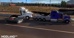 Kenworth W900 Wrecker + Load + Template, 2 photo