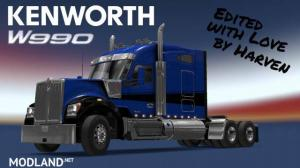 Kenworth W990 edited by Harven v1.2.1 1.36.x, 3 photo