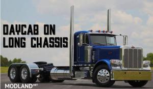 Peterbilt 389 Day Cab on Long Chassis
