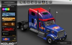 Freightliner Coronado. Modified + Skins + Trailer (1.31), 4 photo