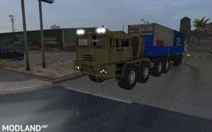 Russian Offroad Pack for ATS 1.31.x (3 Offroad trucks + Offroad Trailers pack)
