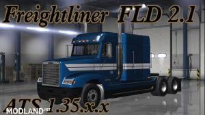 Freightliner FLD ATS v2.1 upd 11.07.19 [1.35], 2 photo