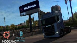 SCANIA Trucks for ATS v1.1  1.29, 1 photo