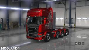 SCANIA Trucks for ATS v1.1  1.29, 4 photo