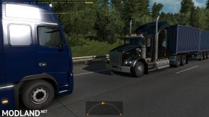 Kenworth T800 in Traffic ATS 1.36 & up, 2 photo