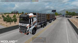 RTA Volvo FH16 plus Trailers v 7.0 1.34.x, 3 photo
